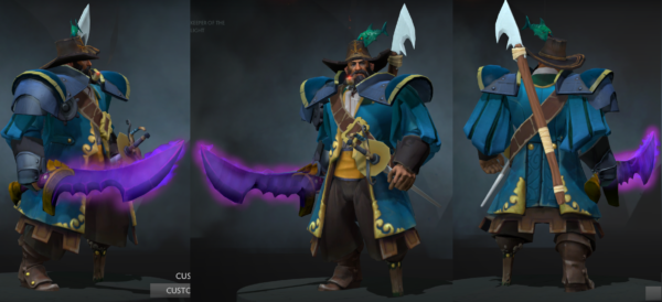 Kunkka Sets and Item Recommendations