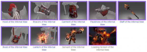 Chaos of the Infernal Maw Items