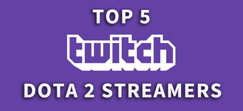 DOTA 2 Twitch TV Streamers