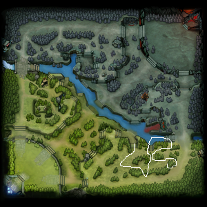 DOTA Minimap Escape