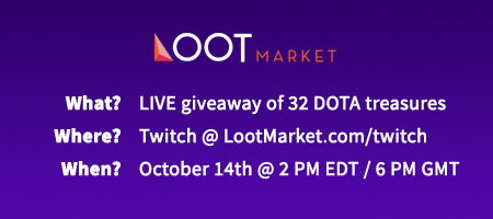 Live Giveaway DOTA Items