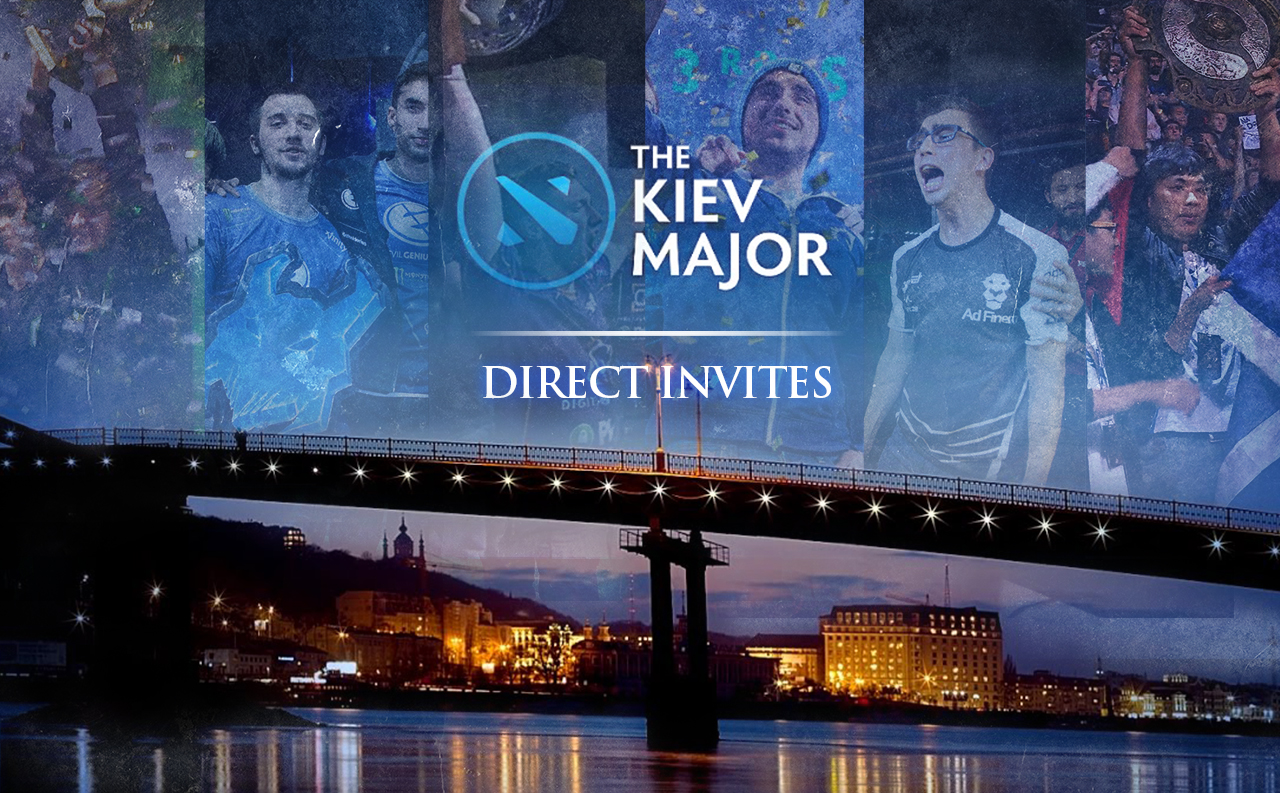 Kiev Major Direct Invites