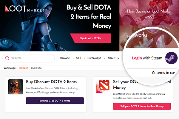 how to buy csgo skins and dota 2 items